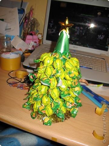 Новогодний подарок своими рука? Легко! Я расскажу вам как сделать сладкую Ёлку! фото 10