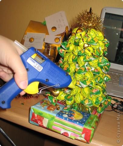 Новогодний подарок своими рука? Легко! Я расскажу вам как сделать сладкую Ёлку! фото 12