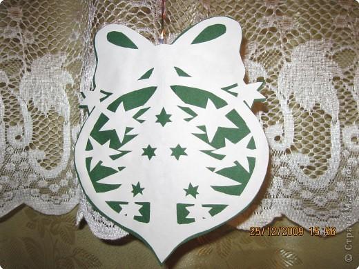 Новогодние украшения из бумаги елка
