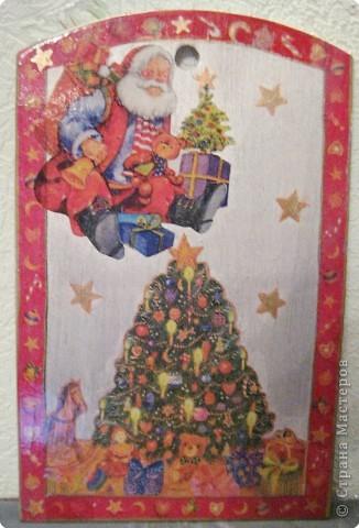 Декупаж: Подарки к Новому году фото 5