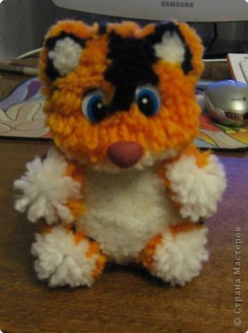 вот такой тигрёнок у меня получился к НГ.