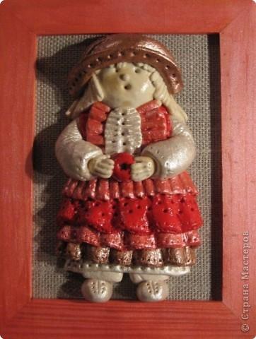 кукла из соленого теста фото 1