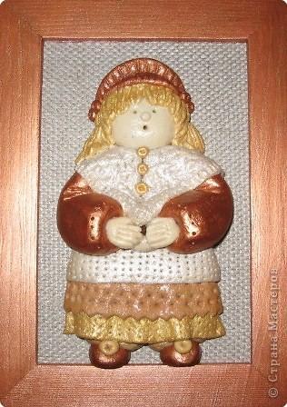 кукла из соленого теста фото 2