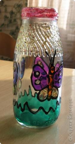 Витраж: Маленькая вазочка