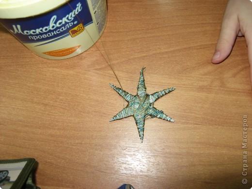 Под руководством Дайн Галины Львовны мы делаем Рождественские звёзды. фото 4