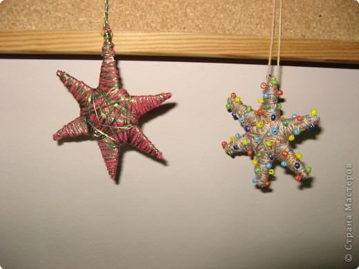 Под руководством Дайн Галины Львовны мы делаем Рождественские звёзды. фото 5