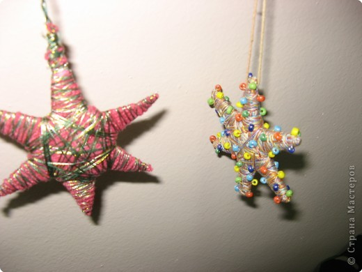 Под руководством Дайн Галины Львовны мы делаем Рождественские звёзды. фото 6