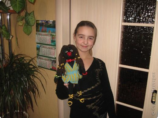 Вязание: Вот такая негритянка получилась на Новый год))) фото 2