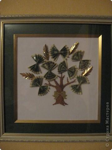 Вышивка крестом: Денежное дерево