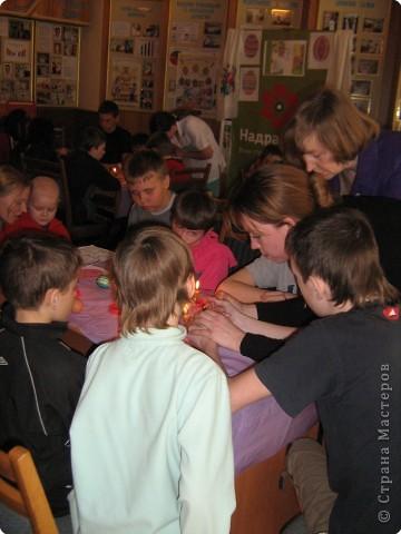Роспись: Благотворительная Пасхальная акция  МК для детей в Обласной больнице фото 8