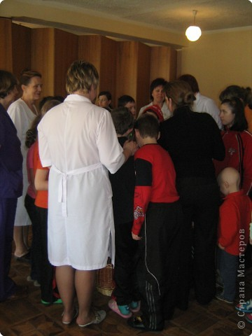 Роспись: Благотворительная Пасхальная акция  МК для детей в Обласной больнице фото 12