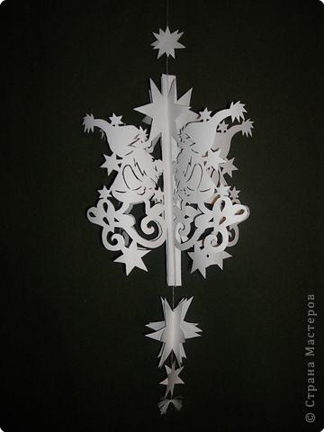 Елочные шары своими руками из бумаги схемы