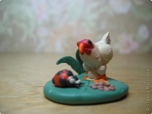 Лепка: Цыпленок.(пластилин) фото 1