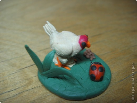Лепка: Цыпленок.(пластилин) фото 2