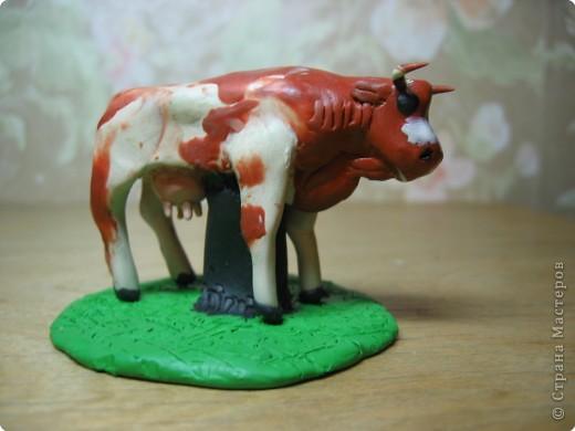 Лепка: Корова.(пластилин) фото 1