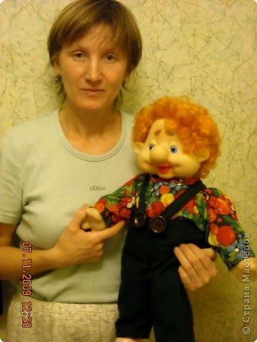мамино призвание это куклы, жаль что она училась на агронома...) фото 5