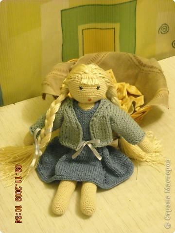 мамино призвание это куклы, жаль что она училась на агронома...) фото 2