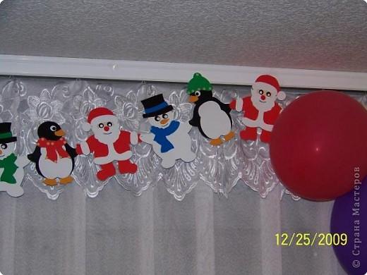 Аппликация: Дед Мороз и все, все. все... фото 2