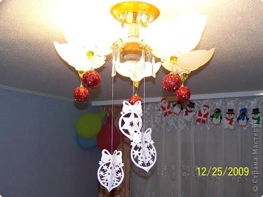 Аппликация: Дед Мороз и все, все. все... фото 5