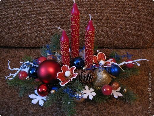 Предлагаю вашему вниманию еще один МК по созданию новогодней композиции. фото 14
