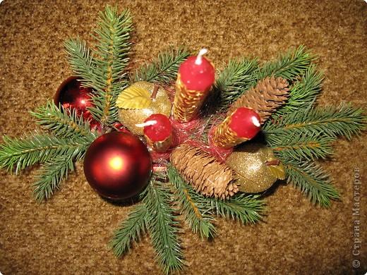 Предлагаю вашему вниманию еще один МК по созданию новогодней композиции. фото 7
