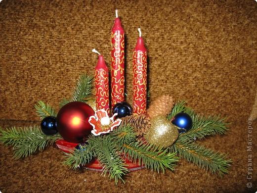 Предлагаю вашему вниманию еще один МК по созданию новогодней композиции. фото 9