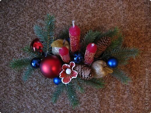 Предлагаю вашему вниманию еще один МК по созданию новогодней композиции. фото 10