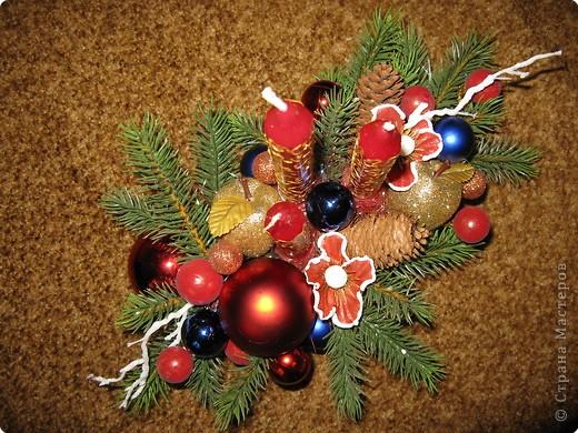 Предлагаю вашему вниманию еще один МК по созданию новогодней композиции. фото 11