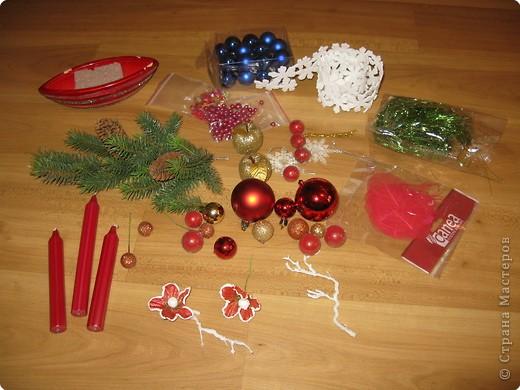 Предлагаю вашему вниманию еще один МК по созданию новогодней композиции. фото 2