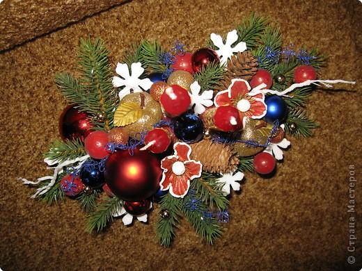 Предлагаю вашему вниманию еще один МК по созданию новогодней композиции. фото 13