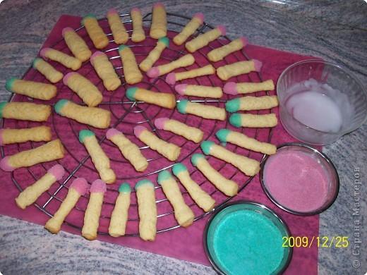 Кулинария печенье Спички  фото 9