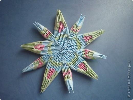 Оригами модульное: зірочка