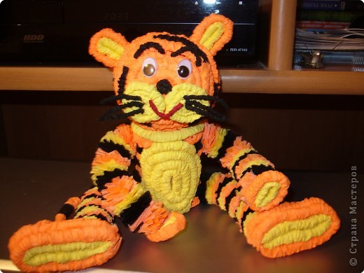 Гофротрубочки: Наш тигрюля