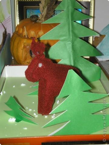 Все готовятся к Новому году, а у нас Центр детского творчества объявил конкурс по охране и изучению животных родного края. Мы, конечно, решили участвовать. Дети вместе с родителями делали поделки. Вот уже половина класса принесли работы. Одна лучше другой! Посмотрите! фото 8