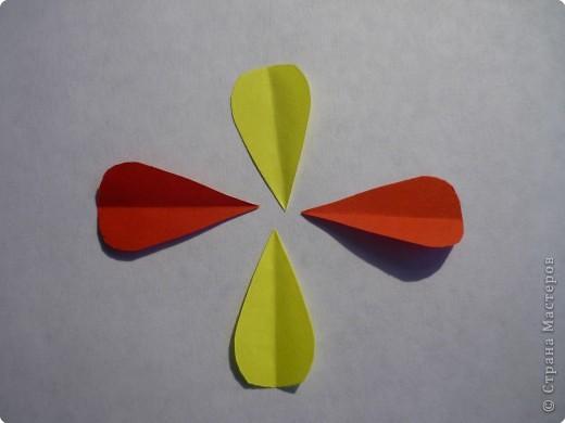 Вырезание симметричное: Гирлянда без клея № 1. МК фото 10