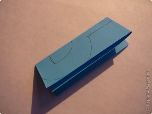 Вырезание симметричное: Гирлянда без клея №2. МК фото 5