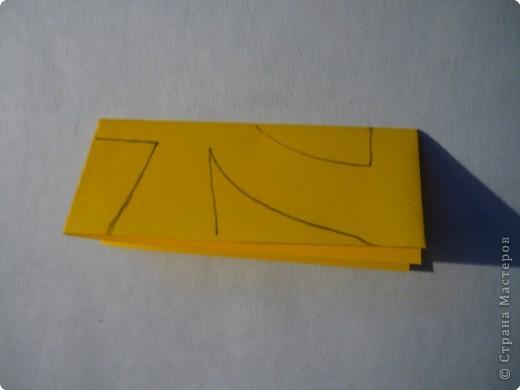 Вырезание симметричное: Гирлянда без клея №2. МК фото 6