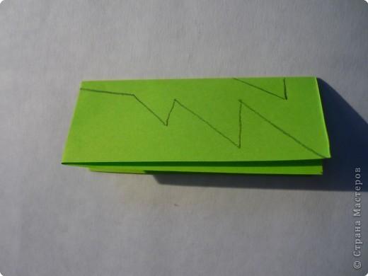 Вырезание симметричное: Гирлянда без клея №2. МК фото 7