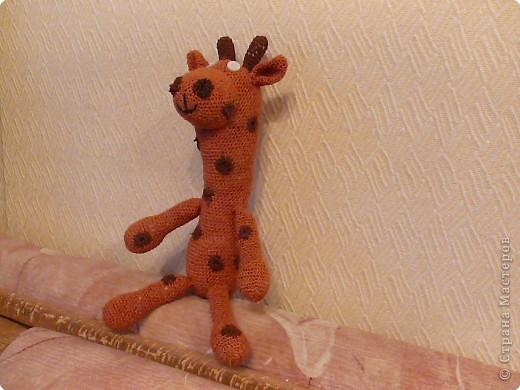 Вязание крючком: Жираф от мужа)) фото 1