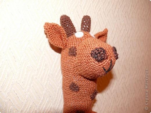 Вязание крючком: Жираф от мужа)) фото 3