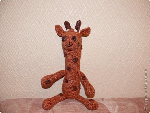 Вязание крючком: Жираф от мужа)) фото 4