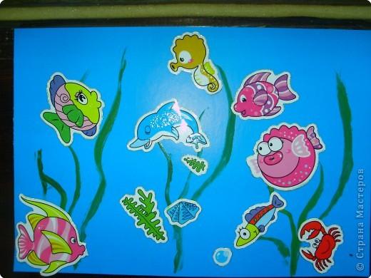 Рисуем пальчиковыми красками. фото 6