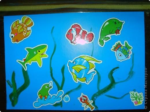 Рисуем пальчиковыми красками. фото 7