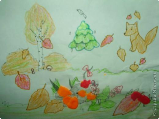 Рисуем пальчиковыми красками. фото 14
