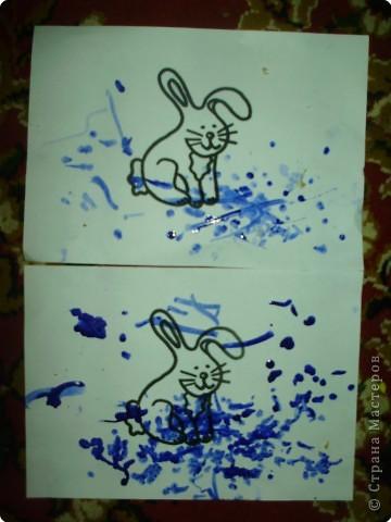 Рисуем пальчиковыми красками. фото 22