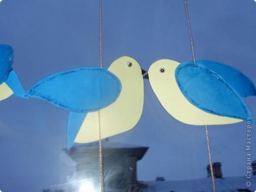 Аппликация: Подвески на окно. фото 5