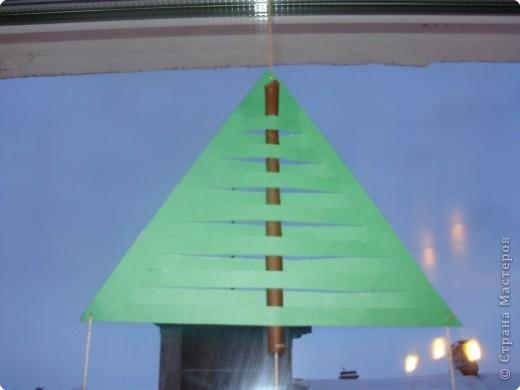 Аппликация: Подвески на окно. фото 2