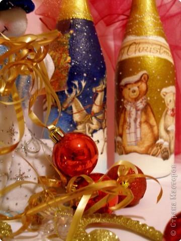 Декупаж: Новогодний декупаж фото 4