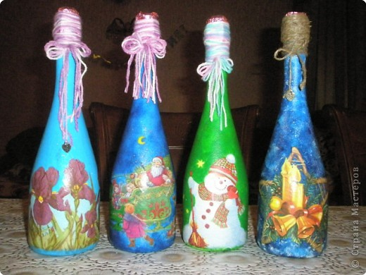 Бутылочки к НГ фото 2