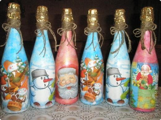 Бутылочки к НГ фото 4
